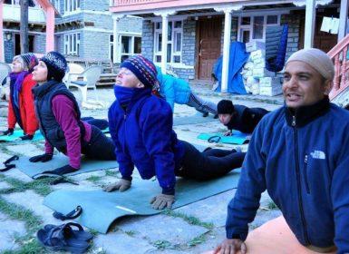Annapurna Circuit Yoga Trek