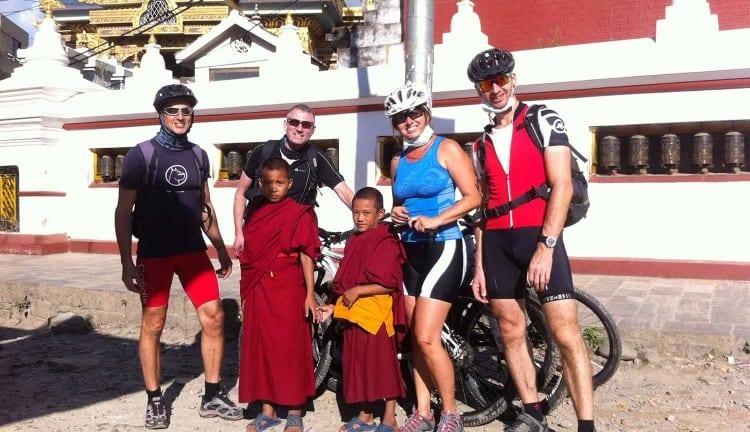 Biking Around Kathmandu