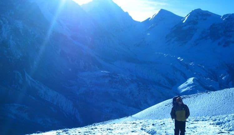 Chulu East Peak Climbing 1