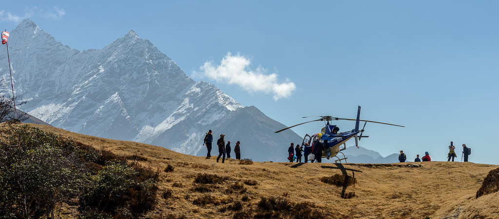 Everest Base Camp Luxury Heli Trek