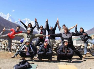 everest yoga trek