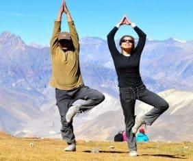 nepal yoga trek serenity