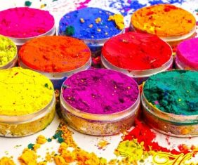 popular color festival in nepal holi celebration