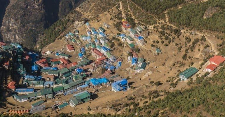 Namche Bazar (3440m) Photo by: Cristina Podocea