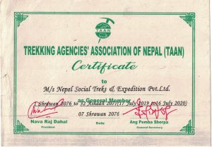 Nepal Social Treks TAAN